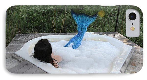 IPhone Case featuring the photograph Everglades City Florida Mermaid 018 by Lucky Cole