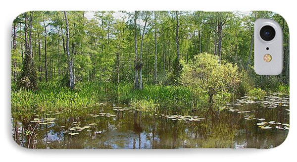 Everglades Lake Phone Case by Rudy Umans