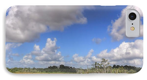 Everglades Landscape Panorama Phone Case by Rudy Umans