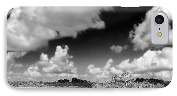 Everglades Panorama Phone Case by Rudy Umans
