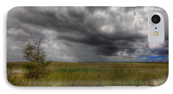 Everglades Storm Phone Case by Rudy Umans