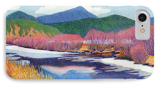 Evergreen Lake Fall IPhone Case by Dan Miller