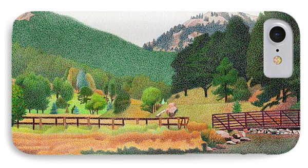 Evergreen Lake Spring IPhone Case by Dan Miller