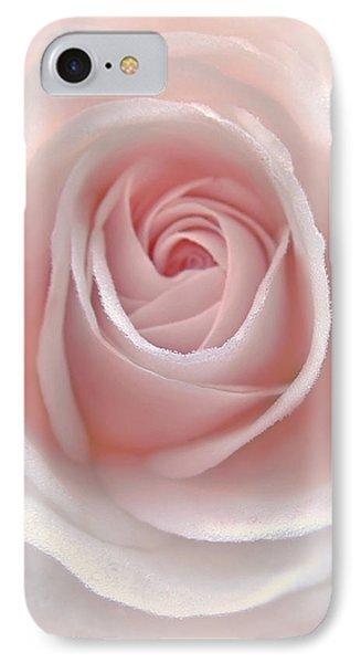 Everlasting Pink Rose Flower IPhone Case by Jennie Marie Schell