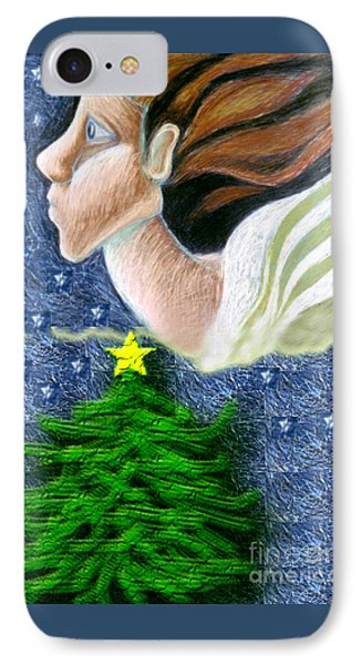 Everseeing Christmas Angel IPhone Case