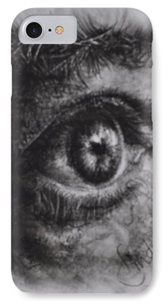 Every Eye Tells Its Own Story IPhone Case by Linda Ferreira