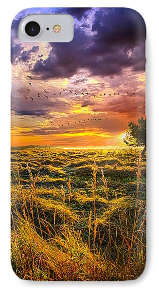 Every Story Has A Beginning IPhone Case by Phil Koch