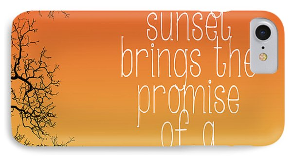 Every Sunset IPhone Case by Heather Applegate