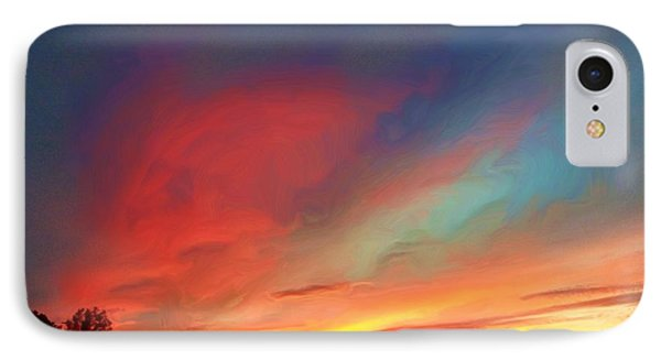 Every Sunset Is A Gift Phone Case by Rick Todaro