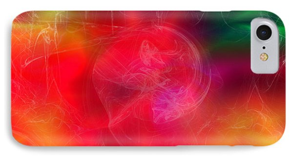 IPhone Case featuring the digital art Everything Is Energy by Martina  Rathgens