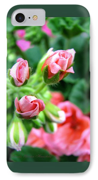 IPhone Case featuring the photograph Everything's Coming Up Geraniums by Brooks Garten Hauschild