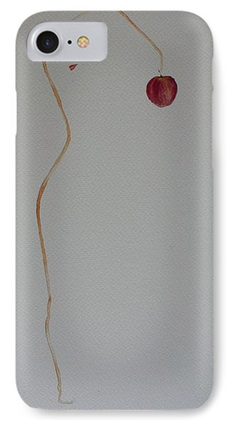 IPhone Case featuring the painting Eve's Apple by Geeta Biswas