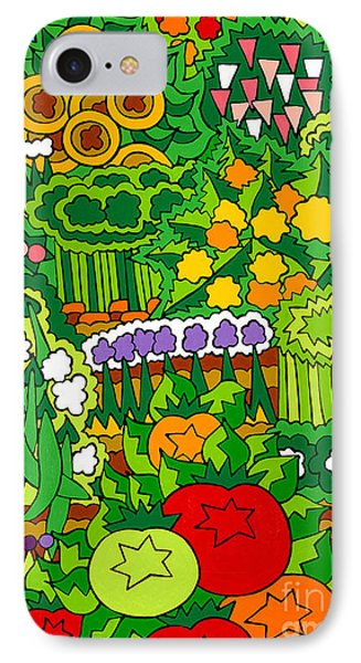 Eve's Garden IPhone Case by Rojax Art