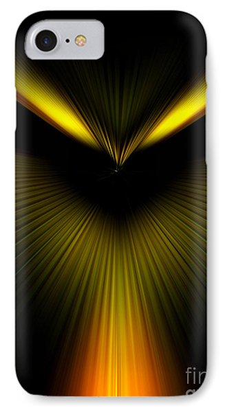 IPhone Case featuring the photograph Evil Eye by Trena Mara