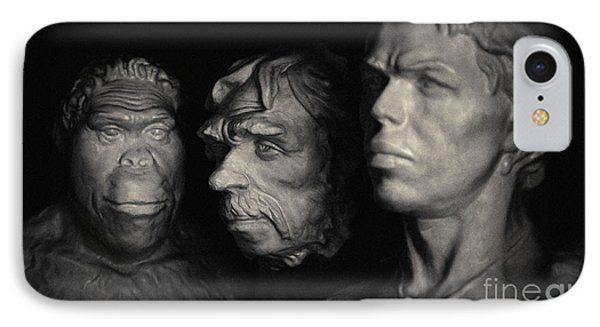 IPhone Case featuring the pyrography Evolution by Evgeniy Lankin