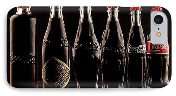 IPhone Case featuring the photograph Evolution Of Coca Cola Tm by Merton Allen