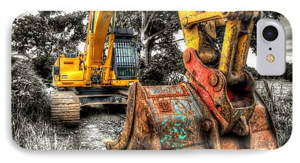 Excavator IPhone Case