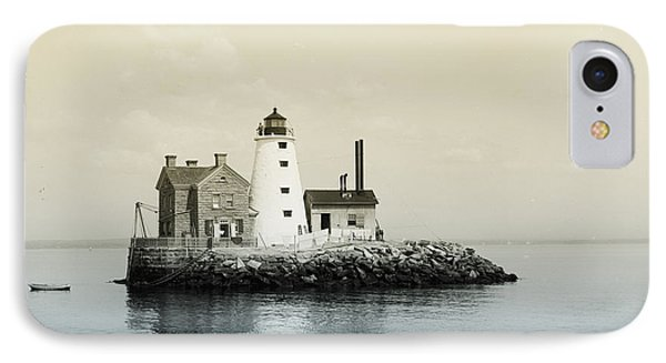 Execution Rocks Lighthouse New York  Phone Case by Bill Cannon