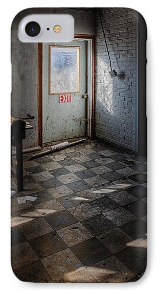 Exit IPhone Case by Donald Schwartz