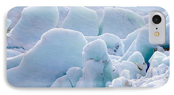 Exit Glacier At Harding Ice Field IPhone Case