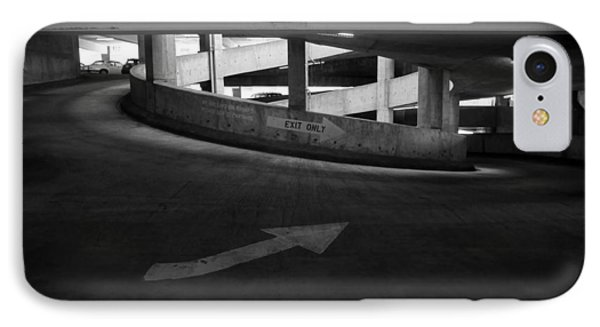 IPhone Case featuring the photograph Exit Only by Luis Esteves