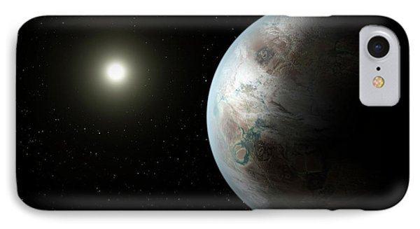 Exoplanet Kepler-452b IPhone Case by Nasa/ames/jpl-caltech