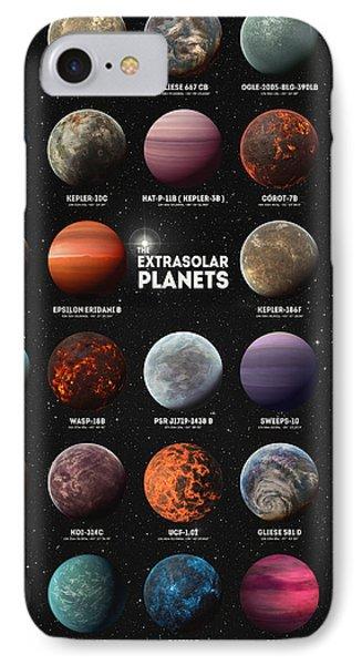 Exoplanets IPhone Case by Taylan Apukovska