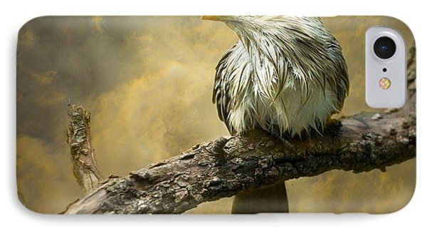 Cuckoo iPhone 7 Case - Exotic Bird - Guira Cuckoo Bird by Gary Heller