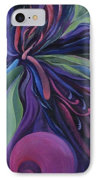Exotic Flower IPhone Case by Natasha Denger