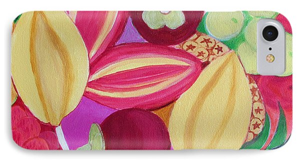 Exotic Fruit Bowl IPhone Case