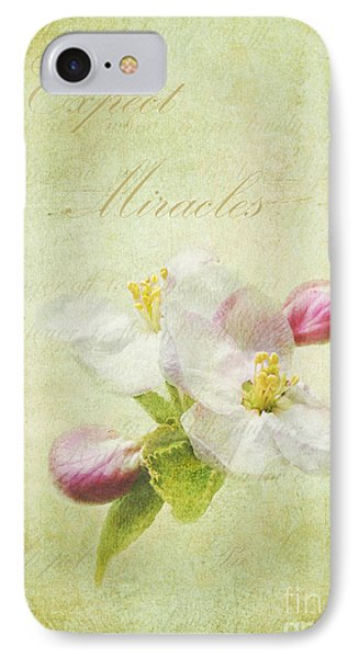 Expect Miracles IPhone Case by Kathi Mirto