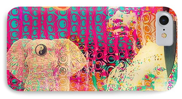 Experimental Digital Collage Phone Case by John  De Sousa