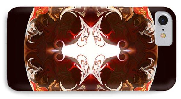Exploding Consciousness Abstract Mandala Artwork By Omaste Witkowski Phone Case by Omaste Witkowski