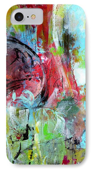 IPhone Case featuring the painting Exploration by Katie Black