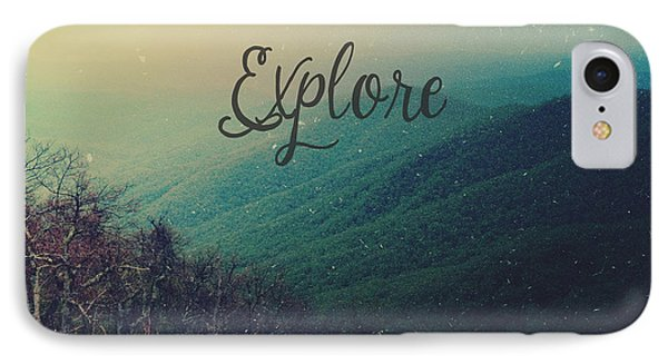 Explore IPhone Case by Olivia StClaire