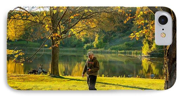 Exploring Autumn Light Phone Case by Steve Harrington