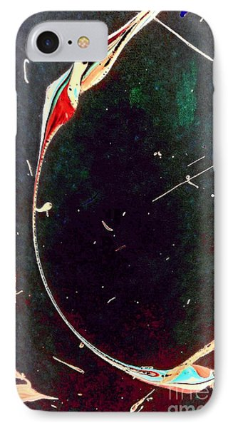 IPhone Case featuring the painting Exploring New Depths by Jacqueline McReynolds