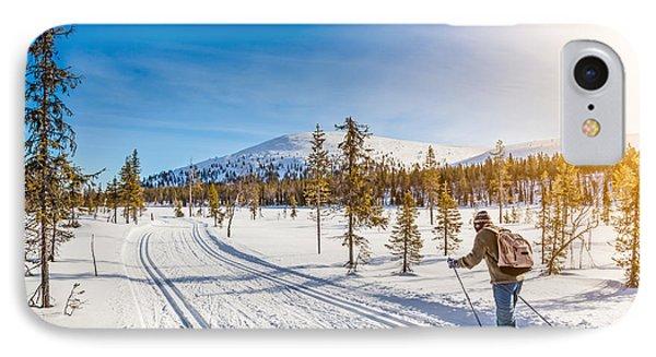 Exploring Scandinavia IPhone Case by JR Photography