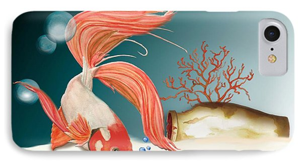 Exploring The Deep IPhone Case by Anne Beverley-Stamps