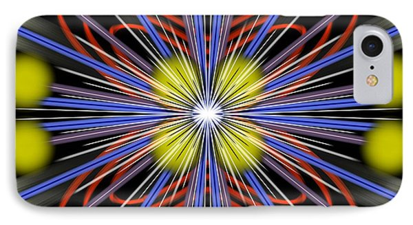 IPhone Case featuring the digital art Explosion by Brian Johnson