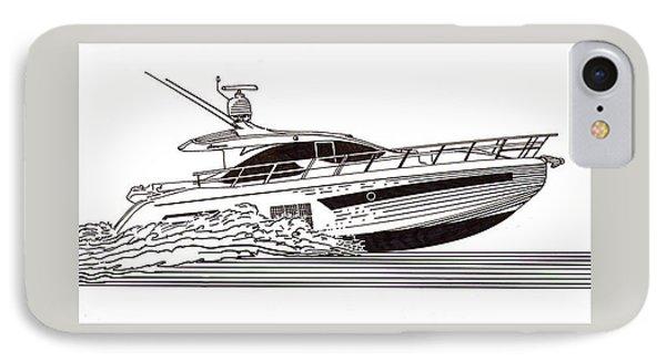 Express Sport Yacht Phone Case by Jack Pumphrey