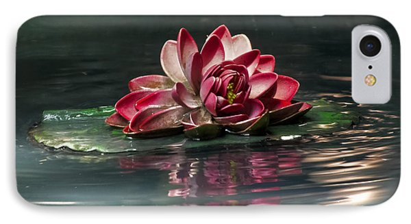 IPhone Case featuring the photograph Exquisite Water Flower  by Lucinda Walter