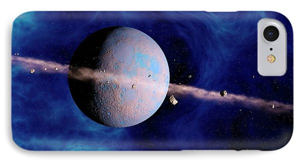 Extrasolar Planet IPhone Case by Joe Tucciarone