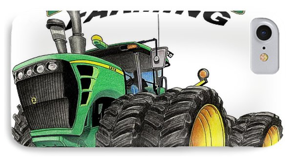 Extreme Farming IPhone Case by Lyle Brown