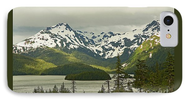 IPhone Case featuring the photograph Eyak Lake Landscape by Nick  Boren