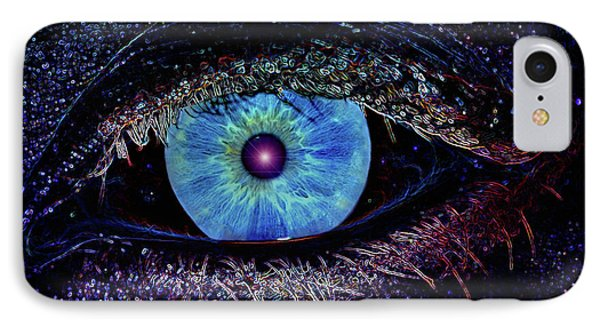 Eye In The Sky Phone Case by Joann Vitali