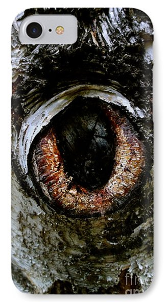Eye In The Tree 1 Phone Case by Jacqueline Athmann