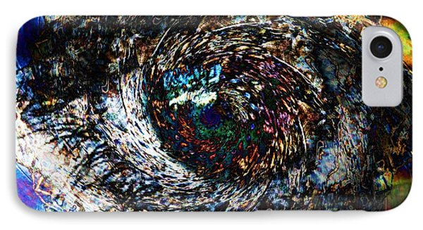 Eye Of A Hurricane Called You Phone Case by Elizabeth McTaggart
