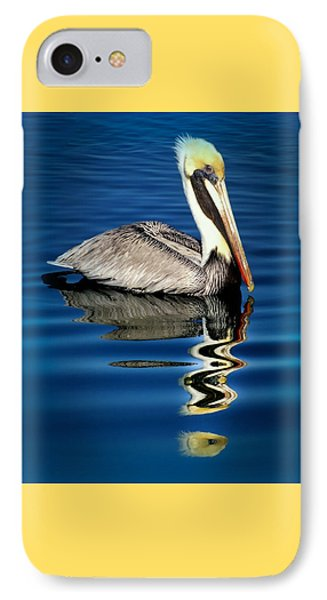 Pelican iPhone 7 Case - Eye Of Reflection by Karen Wiles