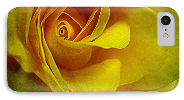 Eye Of Rose Phone Case by Shirley Sirois